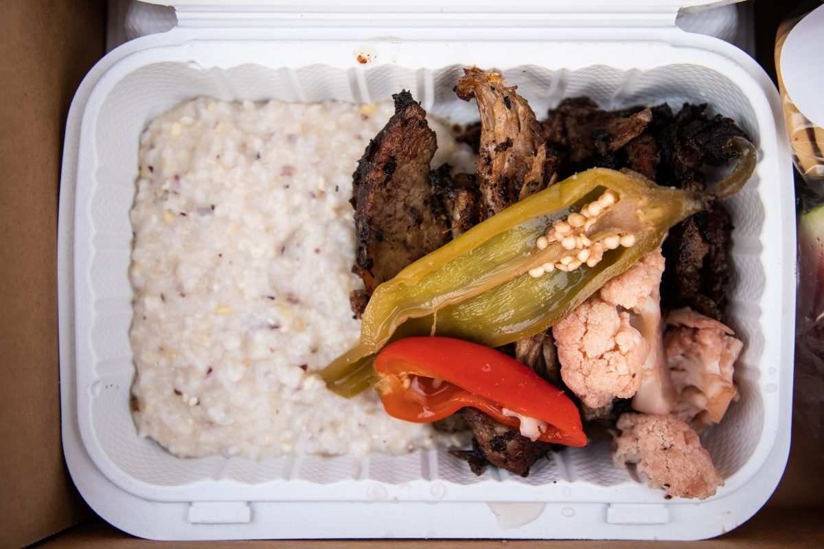 Chef Omar Tate Takeout Steak and Peppers