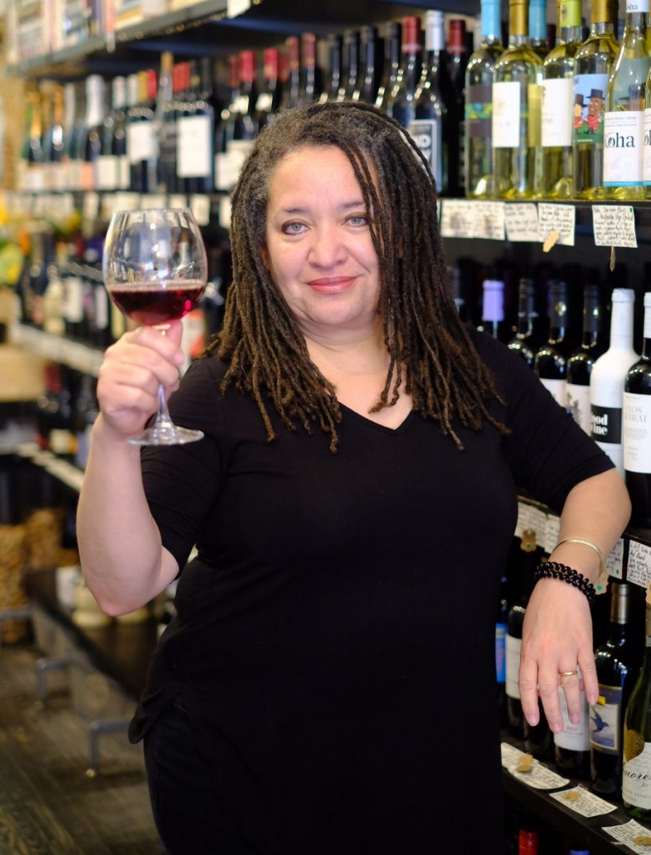 Heather Johnston, owner of Good Wine in New York