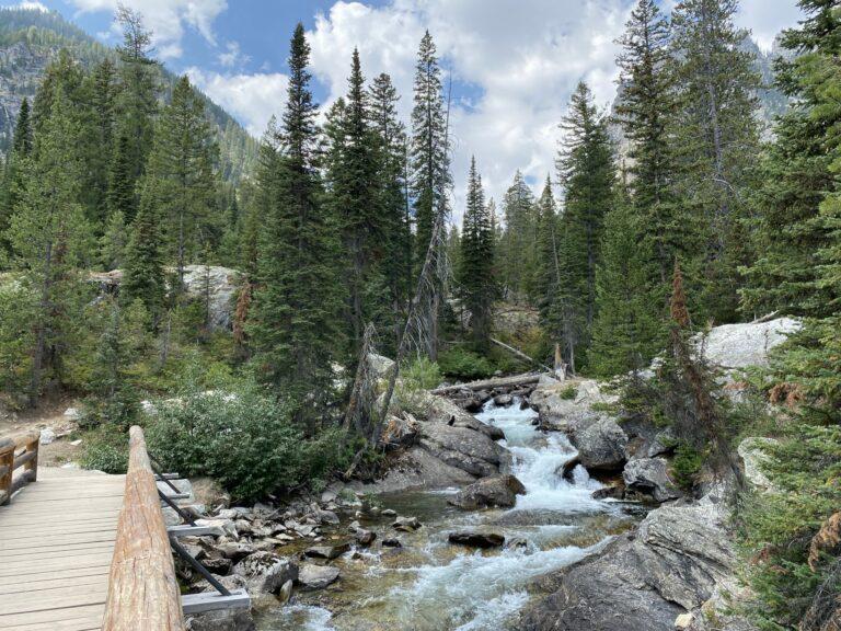 Hiking in Grand Tetons