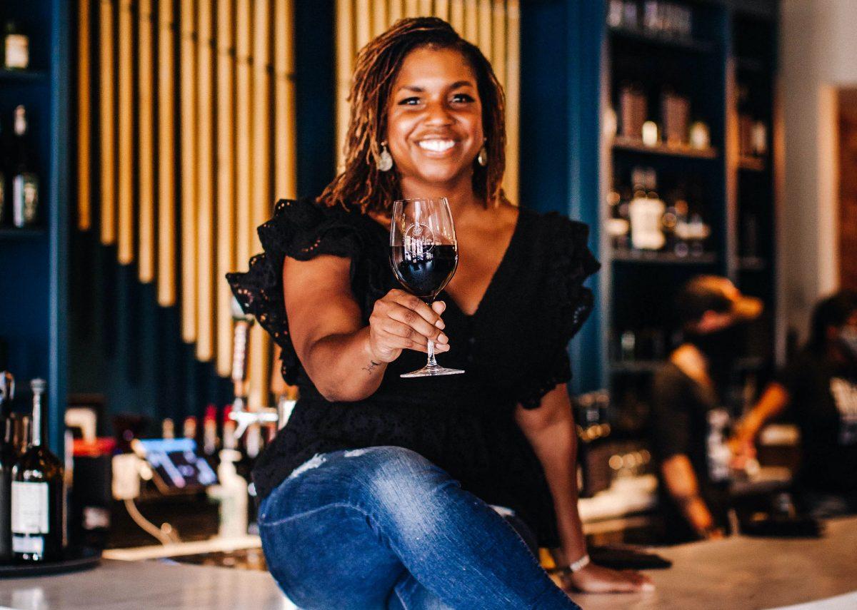 Lindsey Williams, owner of Davidson Wine Co. in North Carolina
