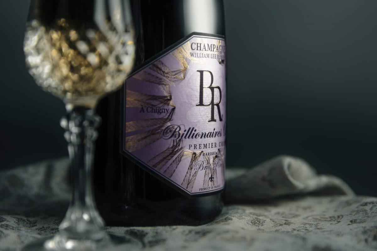 Billionaires Row Champagne Brut Rosé
