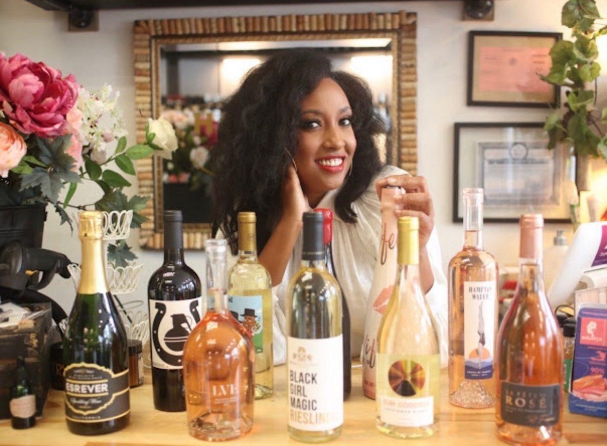 Sunshine Foss, owner of Happy Cork Wine & Spirits