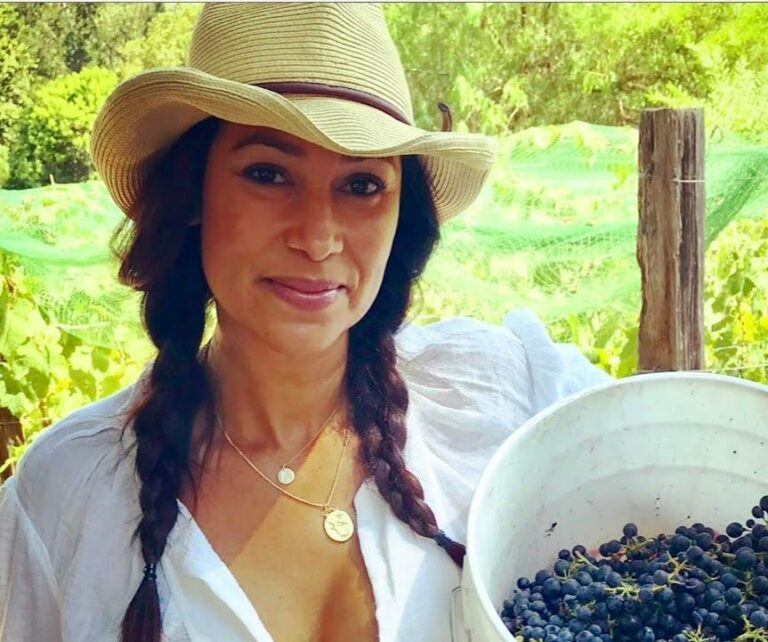 Amber Patton of Amber Vista Wines