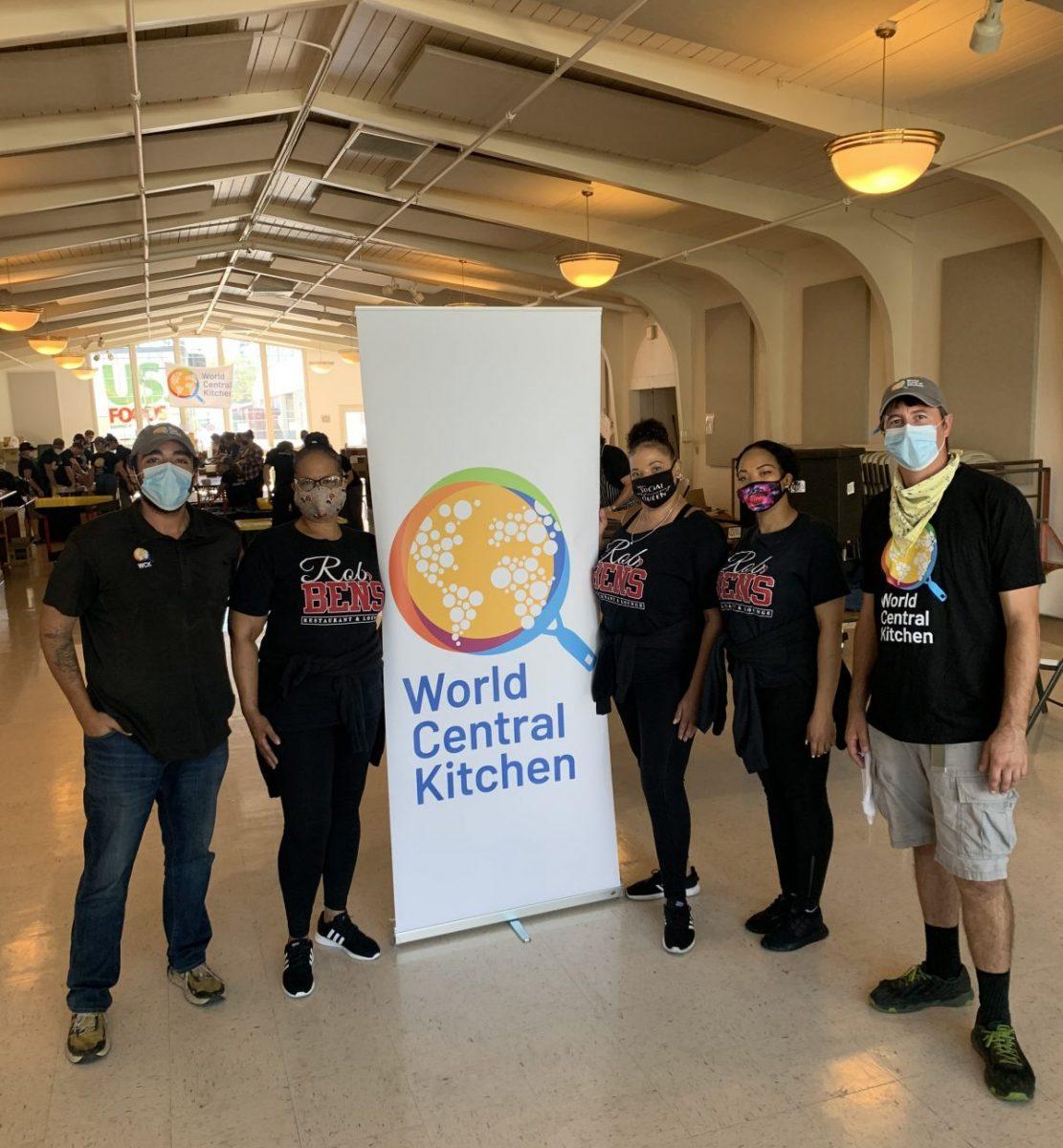 Rob Ben's team in Sonoma with World Central Kitchen
