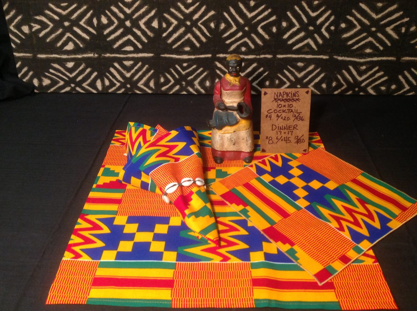 Afrifabs African print napkins