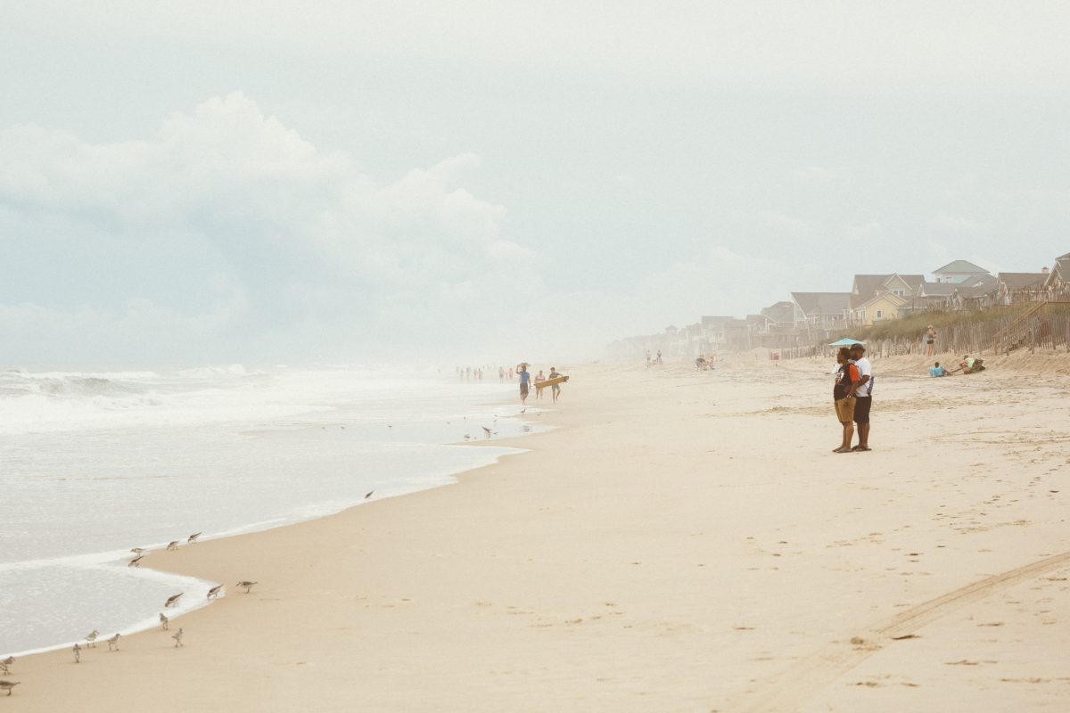 Beach in Kitty Hawk
