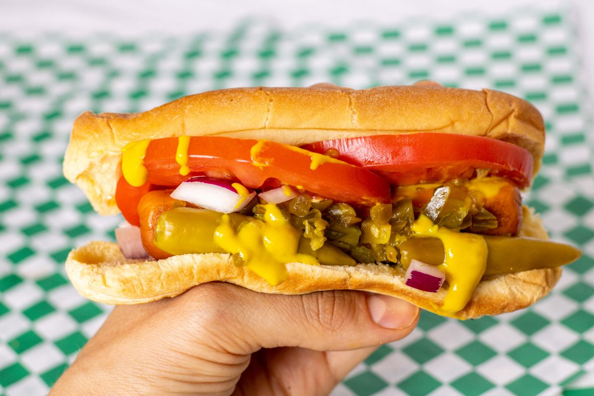 Can't Believe It's Not Meat Chicago Hot Dog
