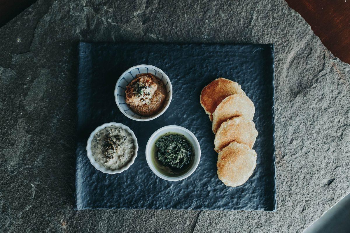 Chef Krist Hummus Snackie Platter