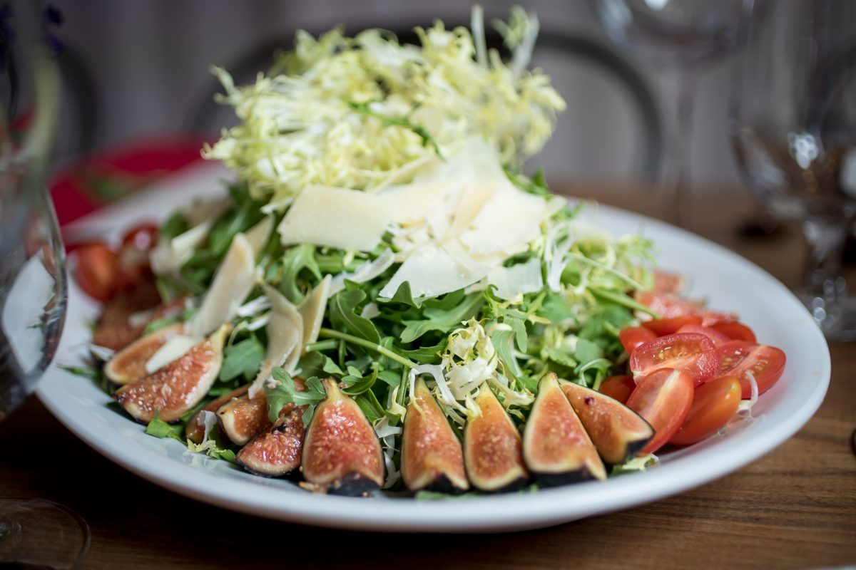 Fig Salad by Chez Montier