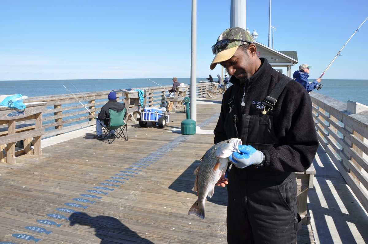 Fishing at Nags Head Pier
