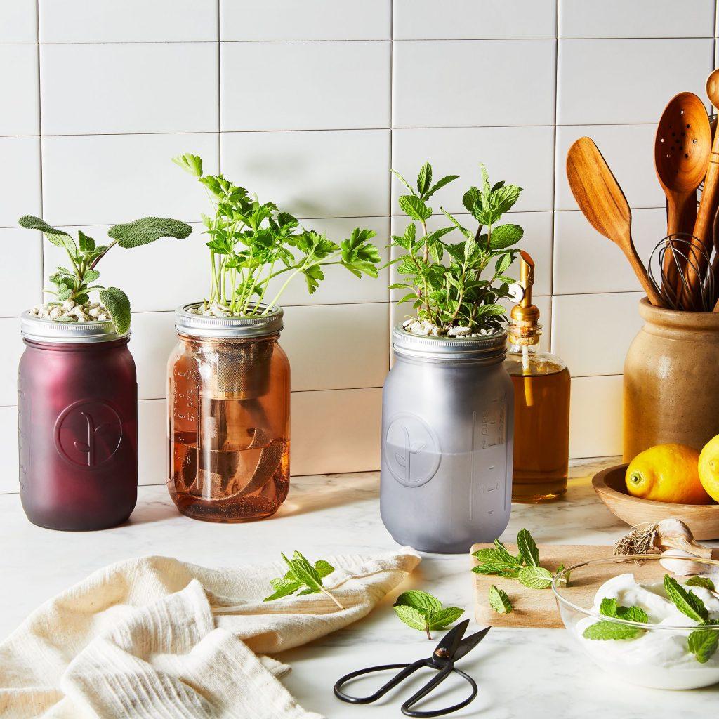 Garden Herb Jar