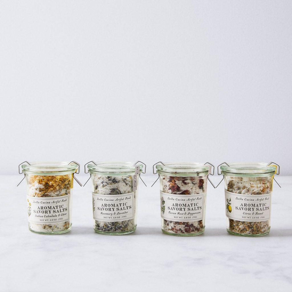 Herb Infused Salt Set
