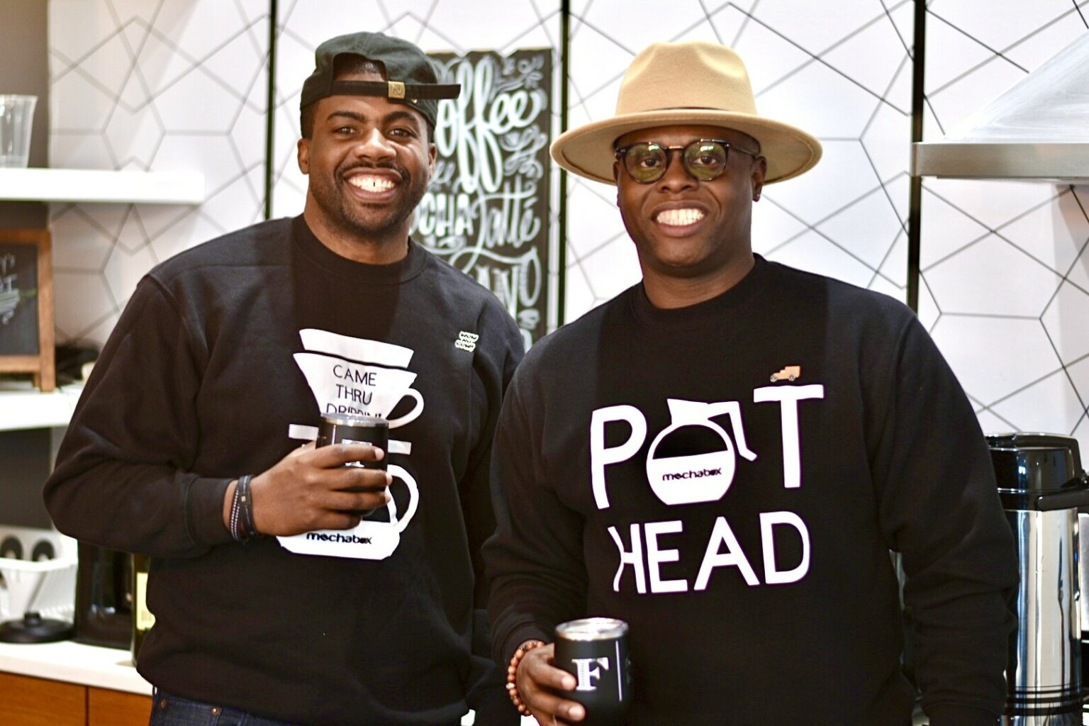 Floyd Sartin and Harlin Thomas of MochaBox Coffee Company