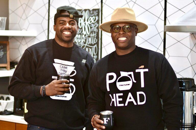 Floyd Sartin and Harlin Thomas of MochaBox Coffee Company