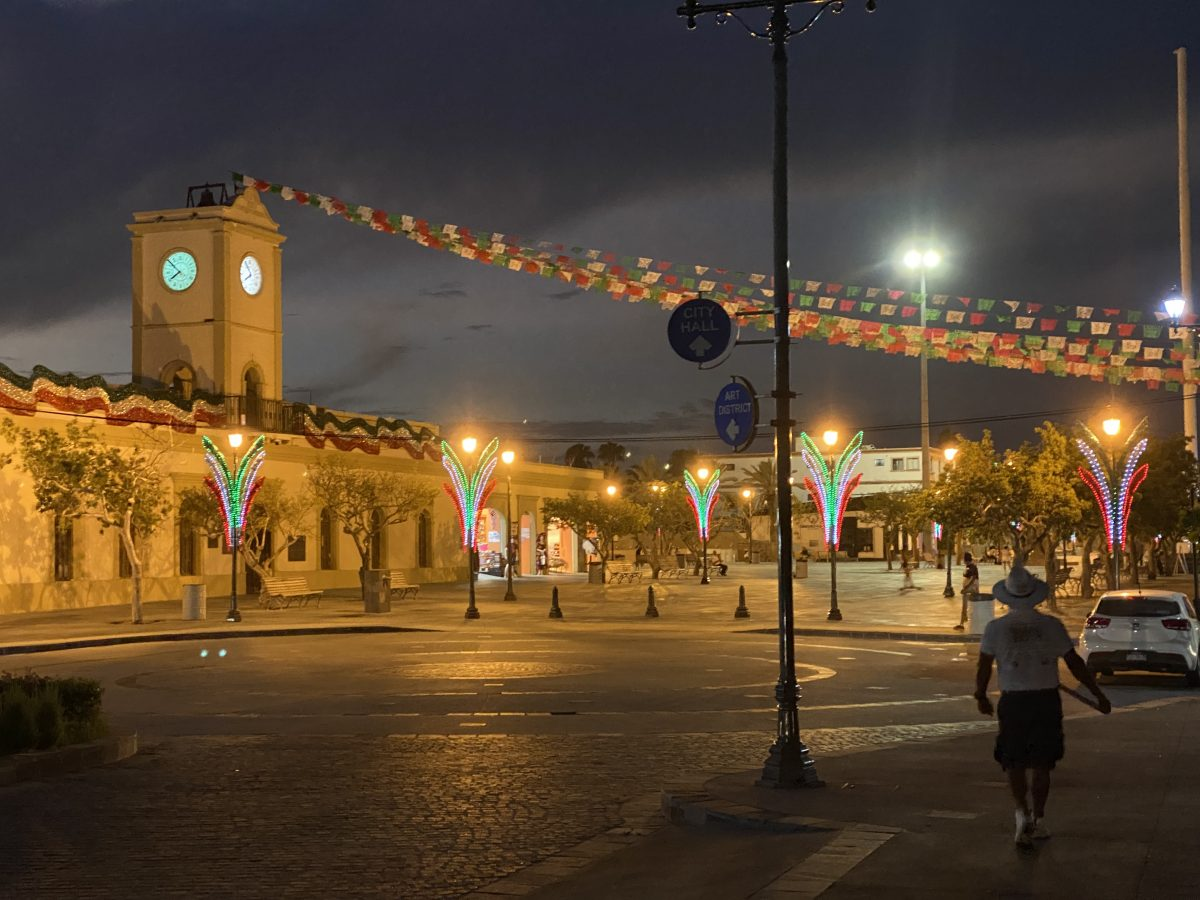 Main square at San Jose Del Cabo