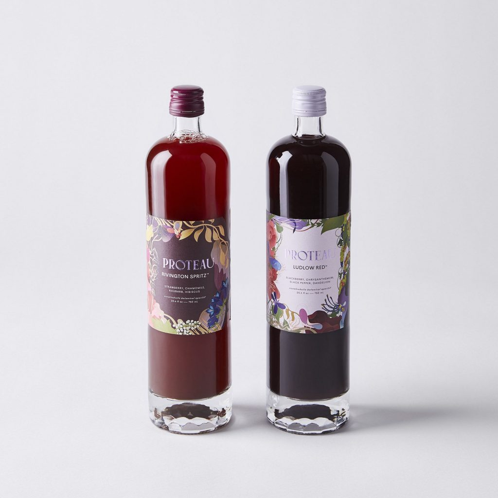 Proteau Zero-Proof Drinks