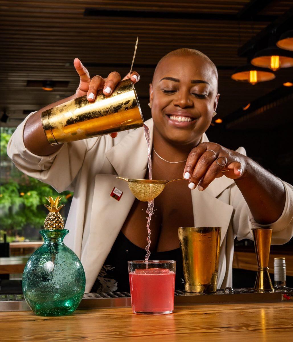 Tiffanie Barriere, Atlanta-based drinking coach
