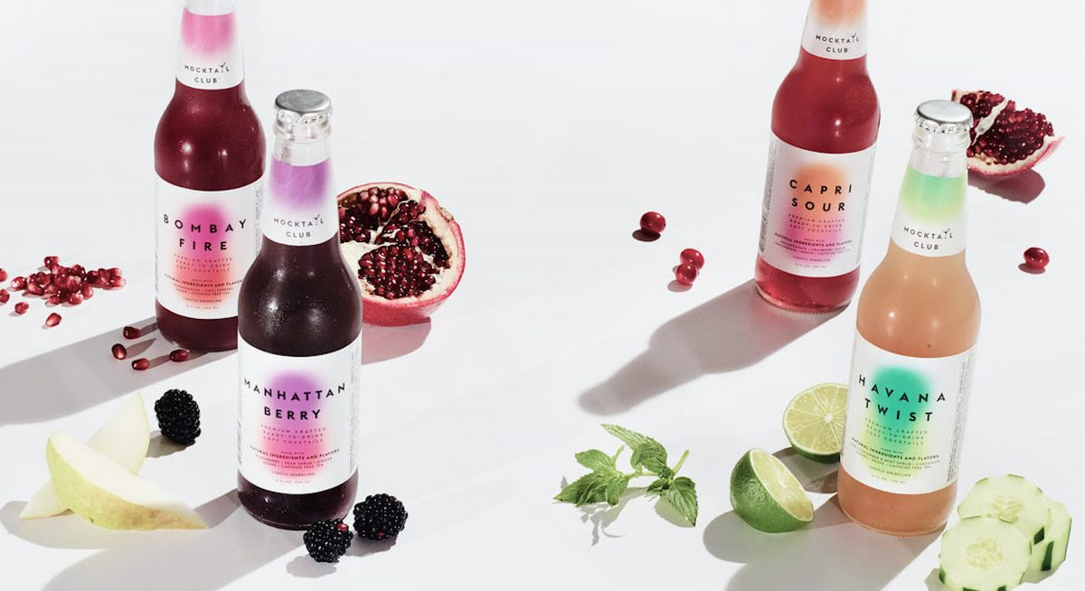 Mocktail Club non-alcoholic drinks