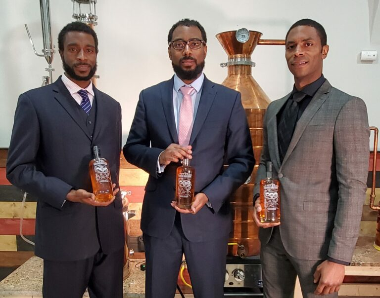 Christian, Victor, Bryson Yarbrough of Brough Brothers bourbon