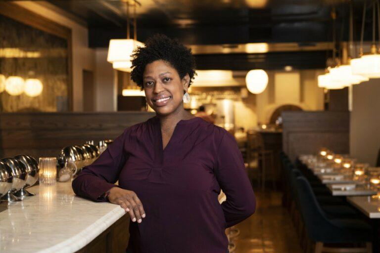 Madeline Maldonado, beverage director at da Toscano in New York