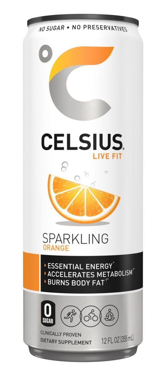 Celsius Can Orange