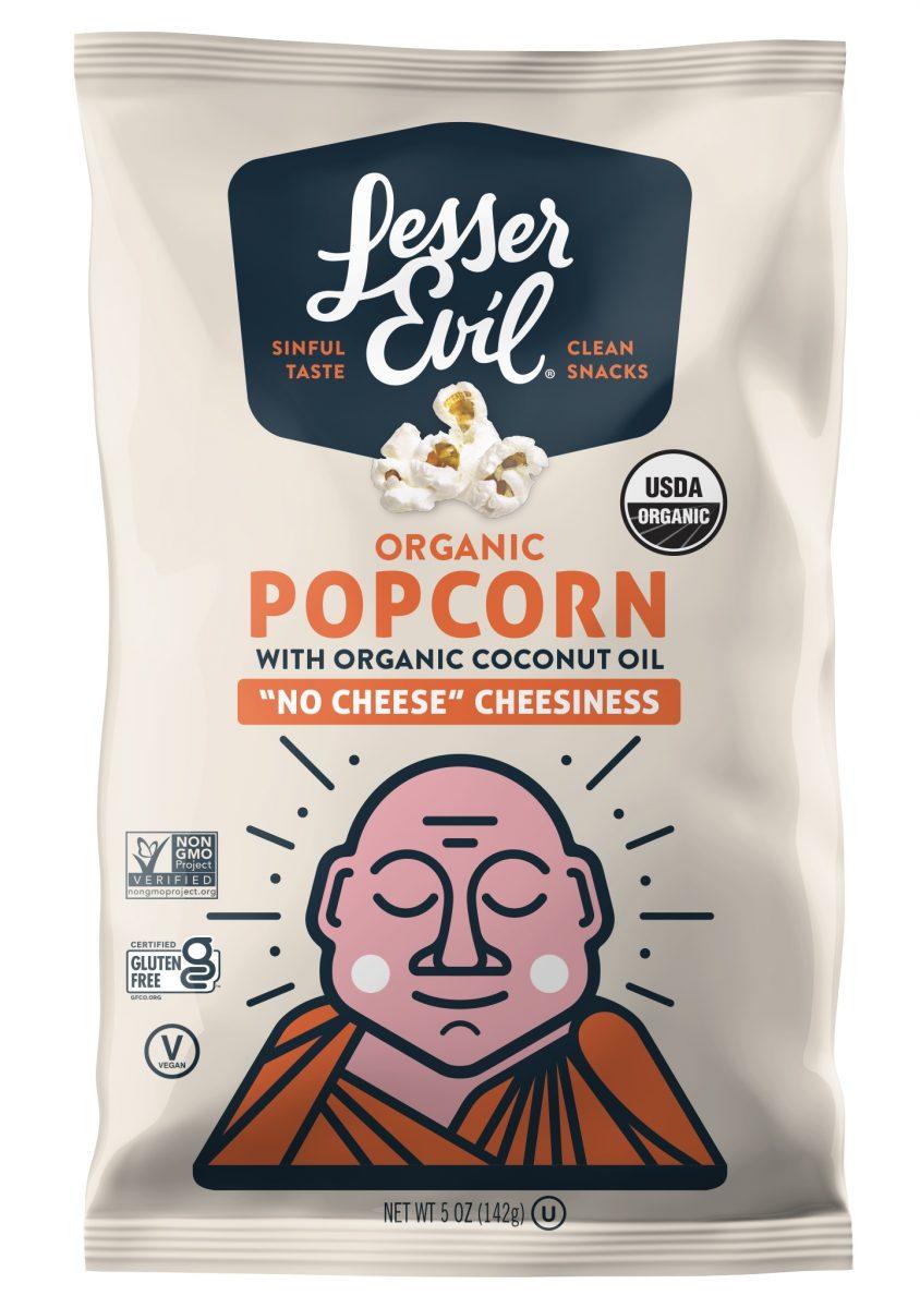 Lesser Evil popcorn