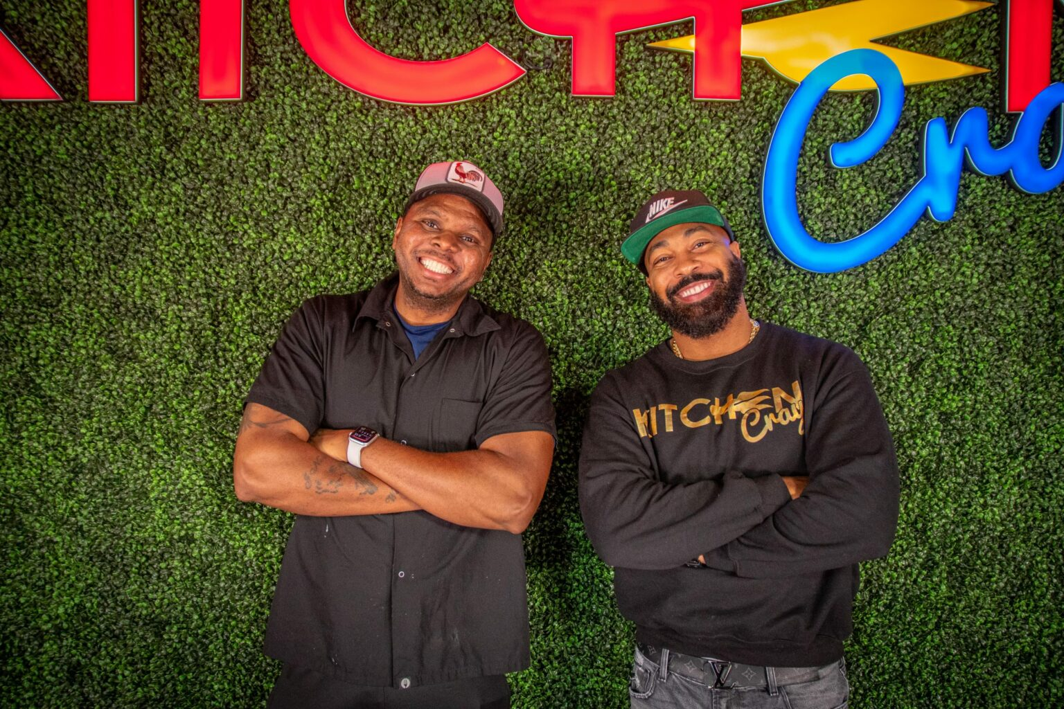 "Sudon Williams and James ""JR""Robinson of KitchenCray"