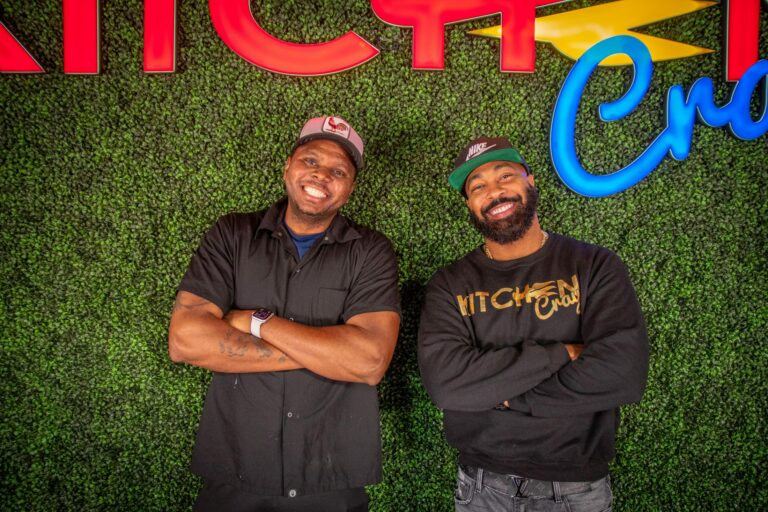 "Sudon Williams and James ""JR""Robinson of KitchenCray"