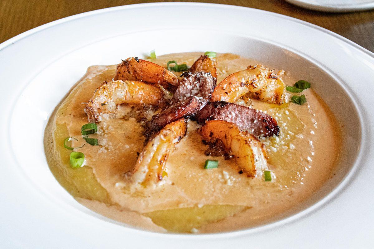 Shrimp dish from KitchenCray