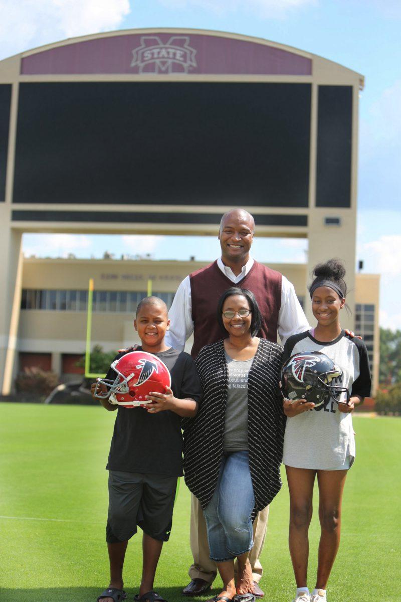 Reggie Kelly and family