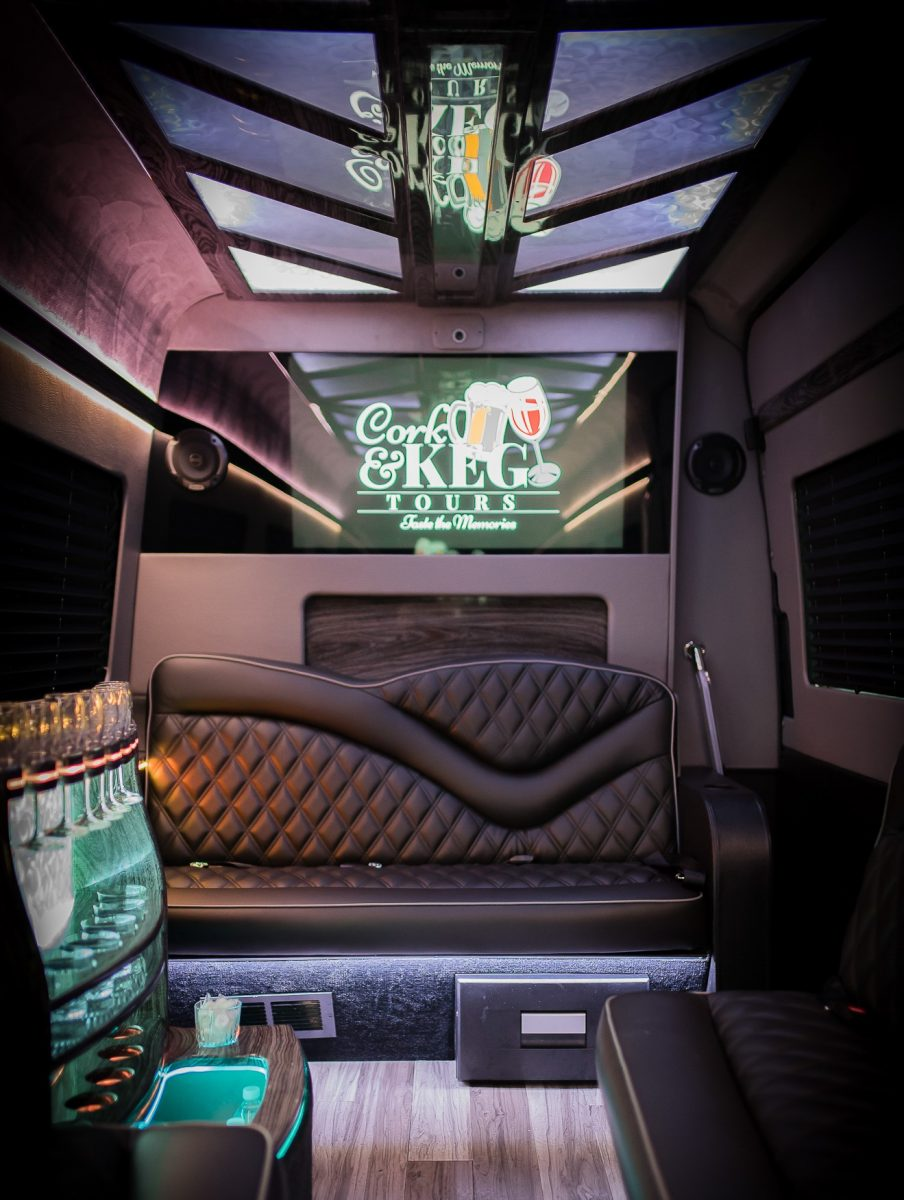 Cork & Keg Tours bus