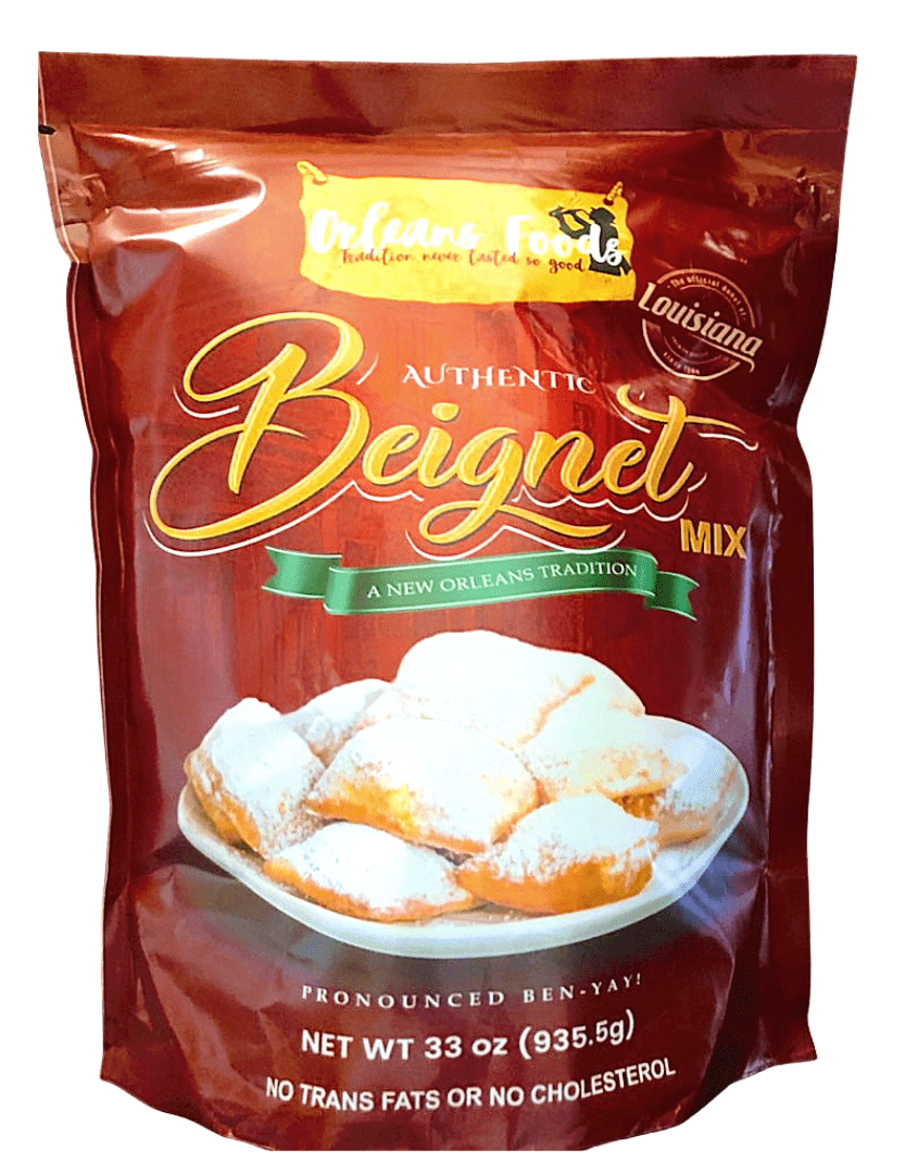 Orleans Foods Beignet Mix by Micah and Heidi Stampley