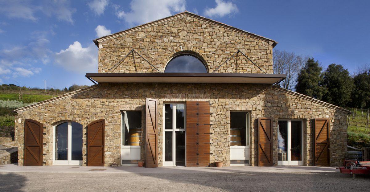 Il Palazzone cellar building