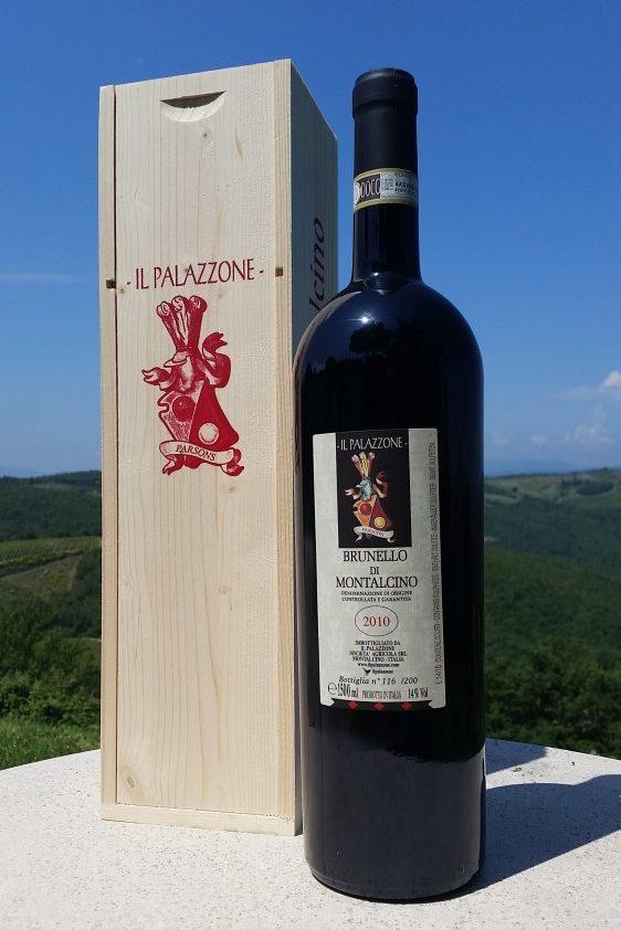 Il Palazzone's 's Brunello magnum bottle