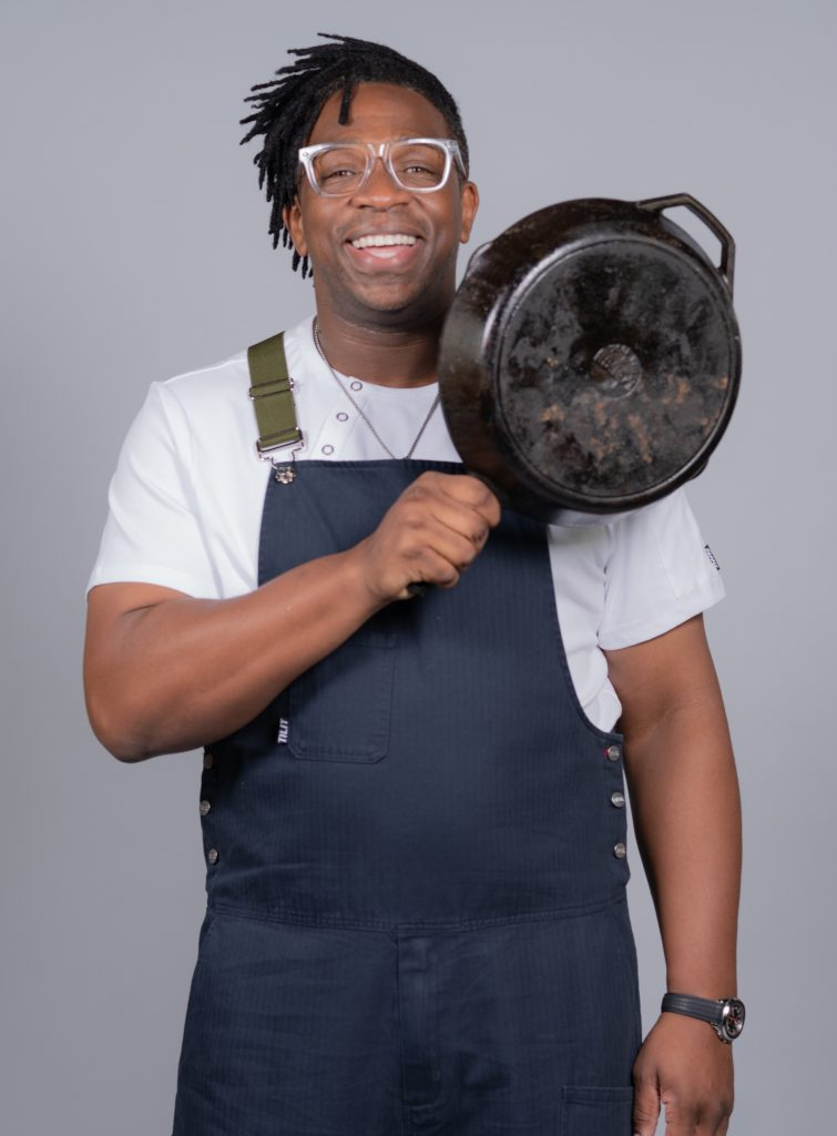 Ameer Natson, chef and founder of Become Creative Agency