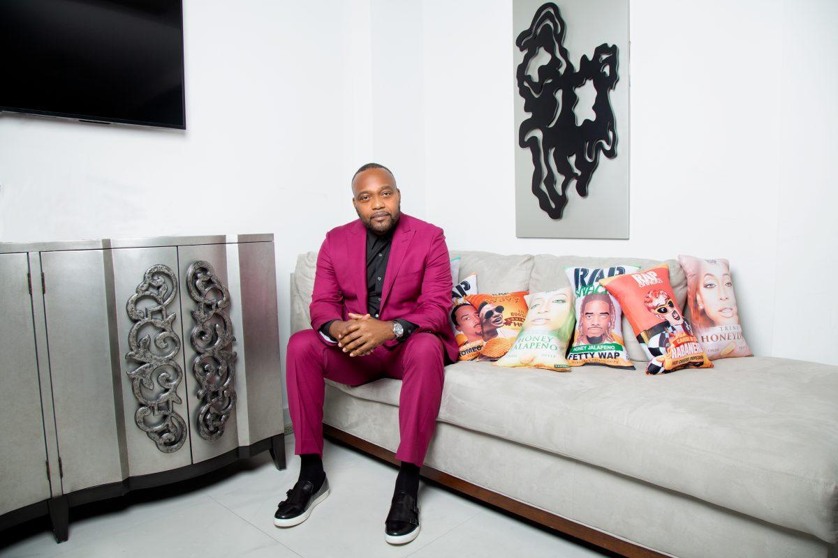 Rap Snacks founder James Lindsay
