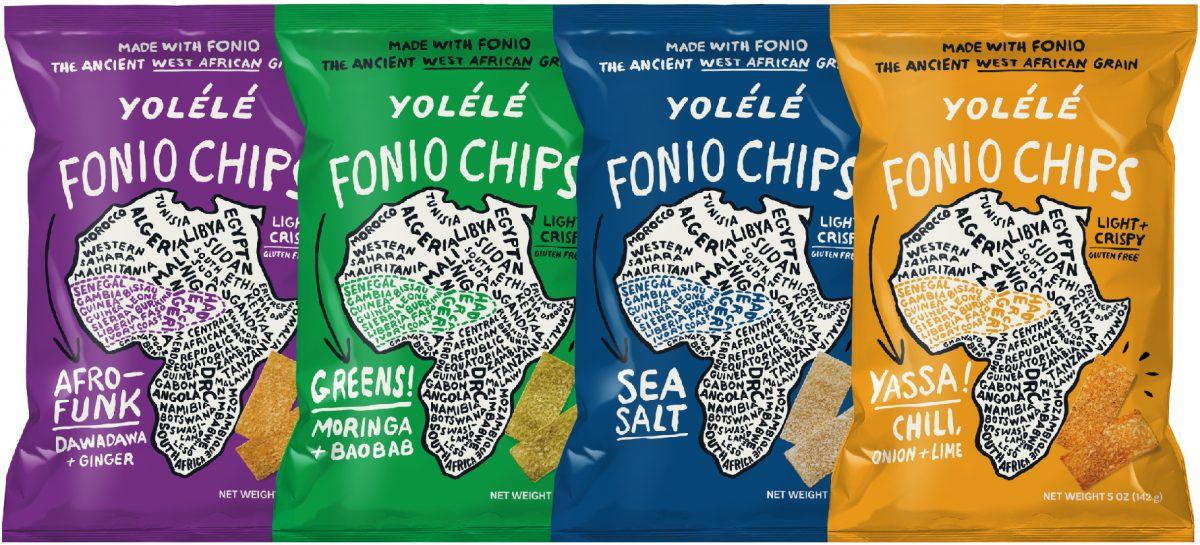 Yolélé Fonio Chips