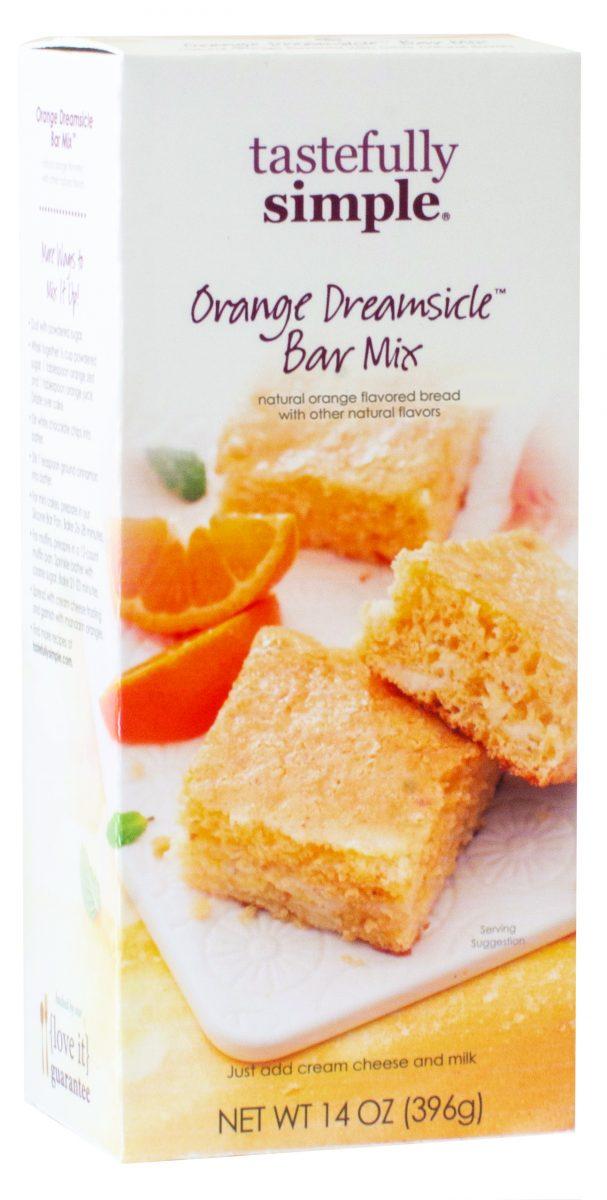 Tastefully Simple Orange Dreamsicle Bar Mix