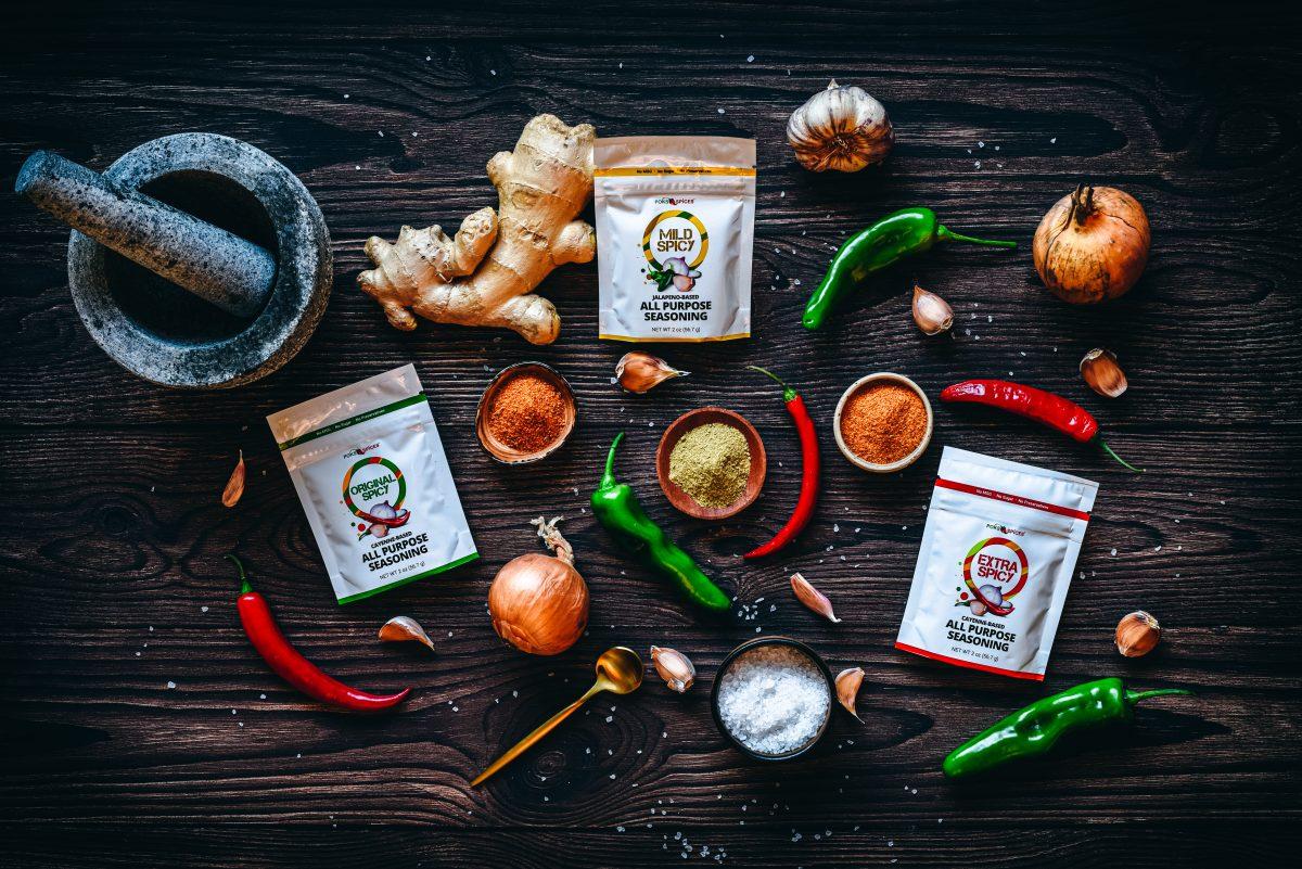 POKS Spices Spicy Seasonings