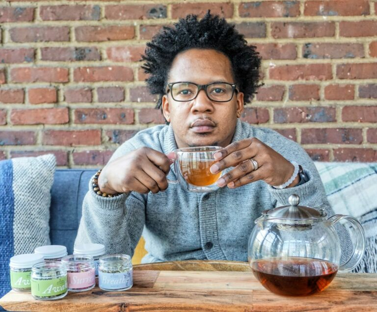 Quentin Vennie, owner of Greenhouse Tea Company