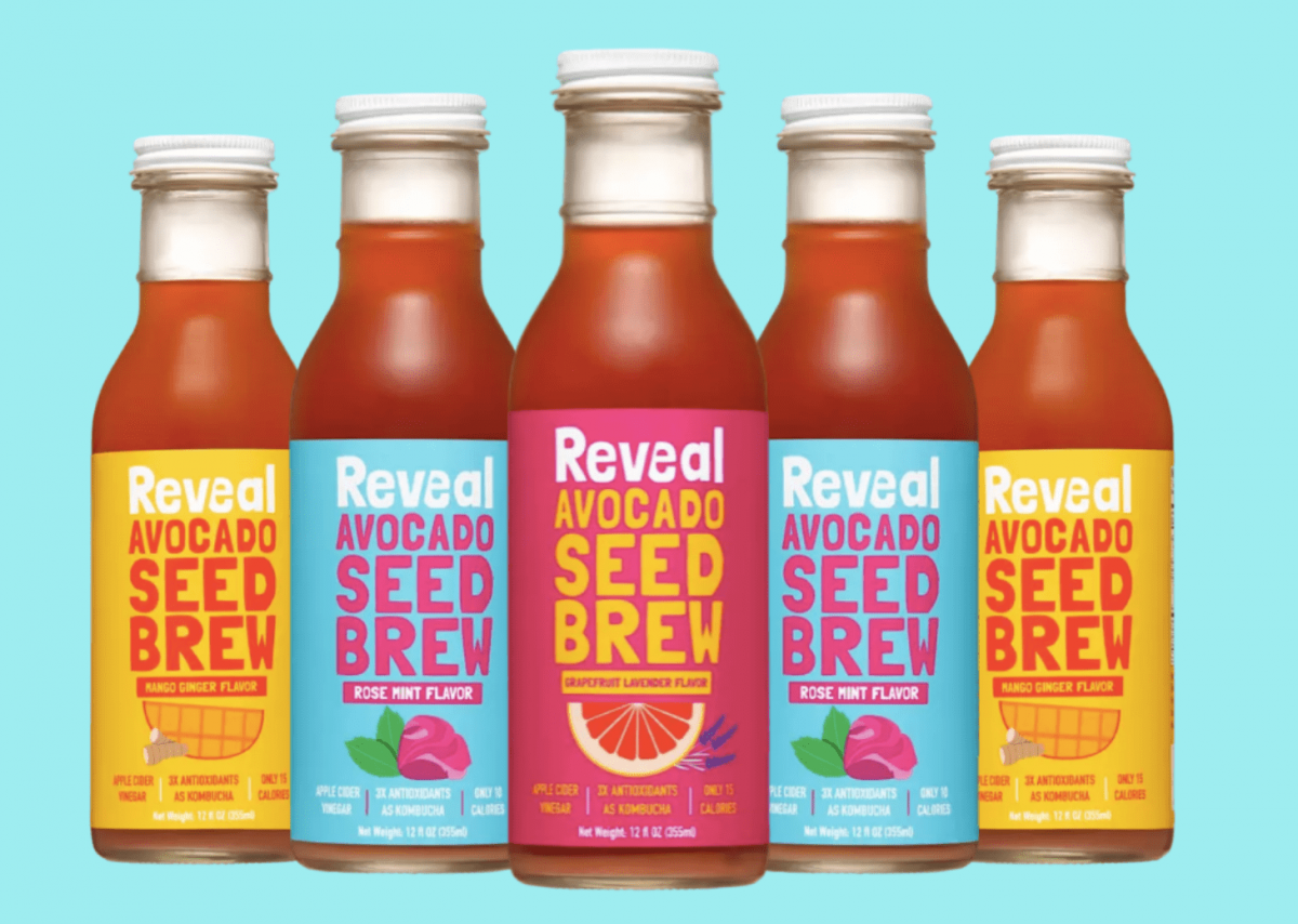Reveal army of drinks, Reveal Avocado Seed Brew