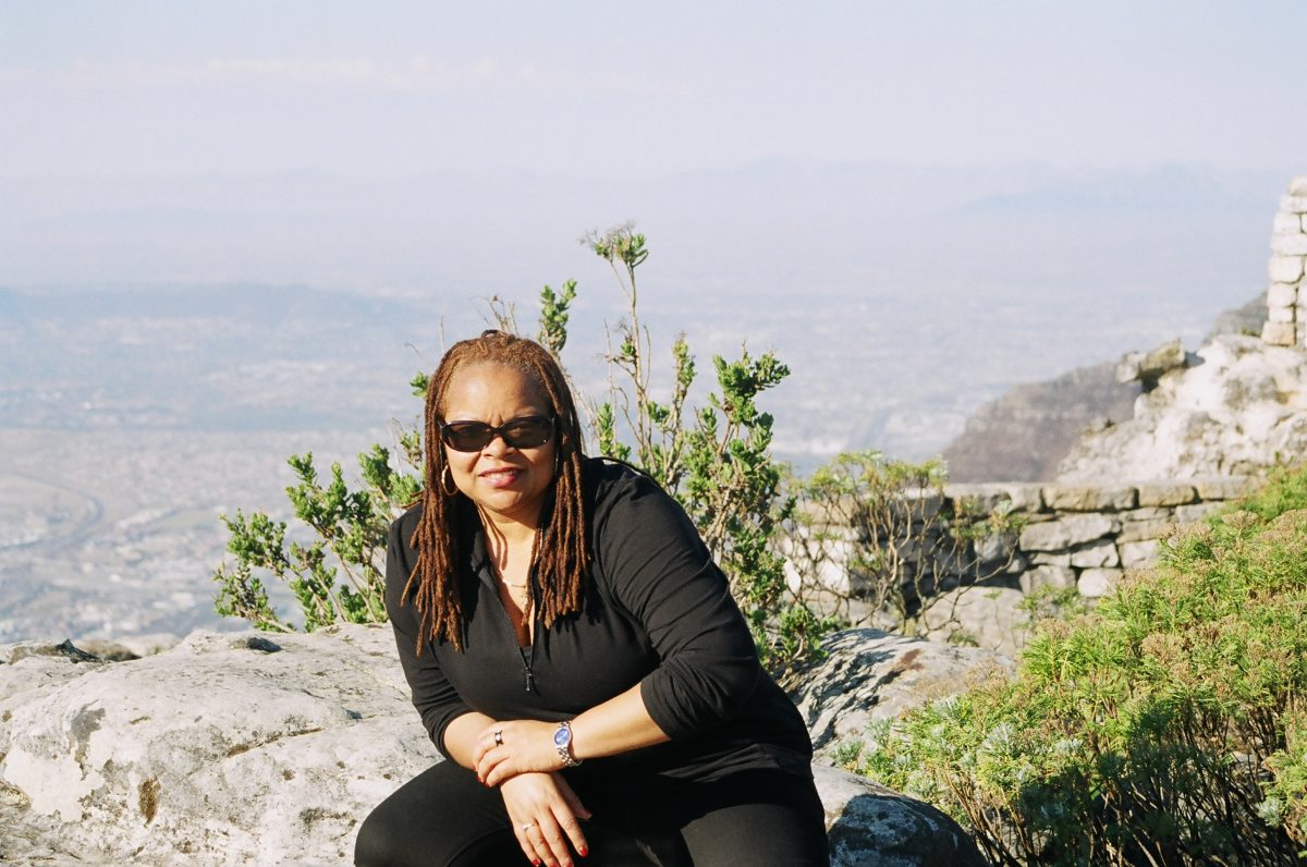 Sharon LaCruise in Cape Town