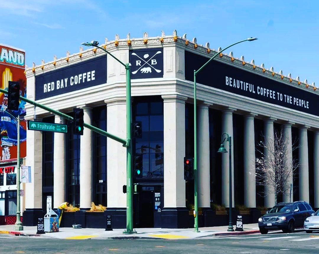 Red Bay Coffee Headquarters in Oakland's Fruitvale District