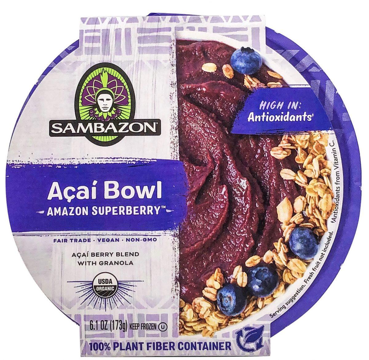 Sambazon Amazon Superberry Açaí Bowl