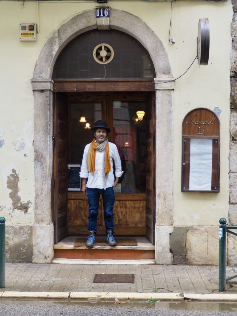 Businessman and restaurateur Mikas in Lisbon, Portugal