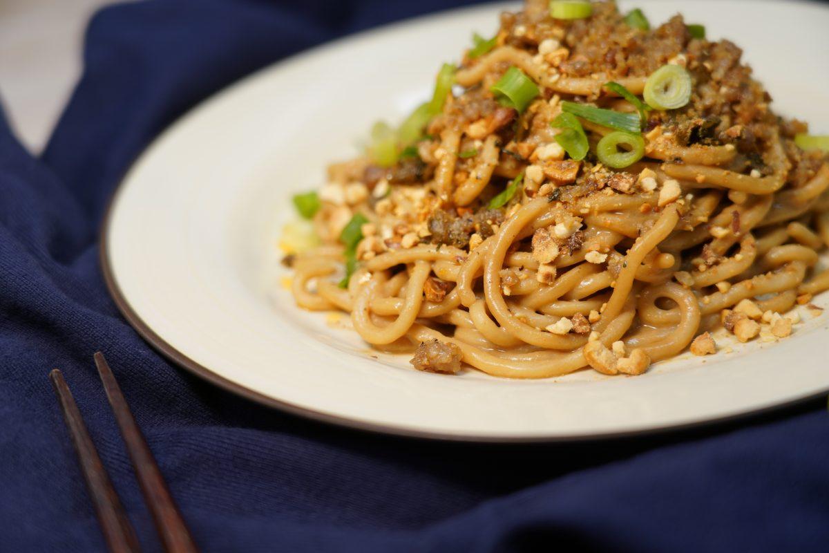 Dan Dan Noodles for Farina Pasta and Noodle