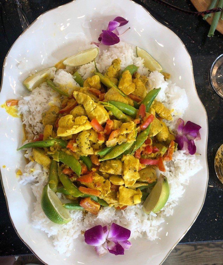 Denyce Graves' Cambodian Inspired Chicken Amok