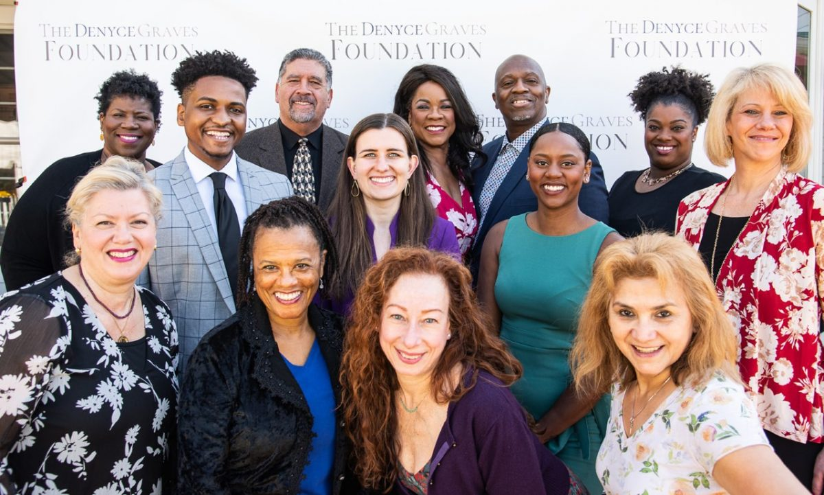 Denyce Graves with Foundation's Pre-Launch Team