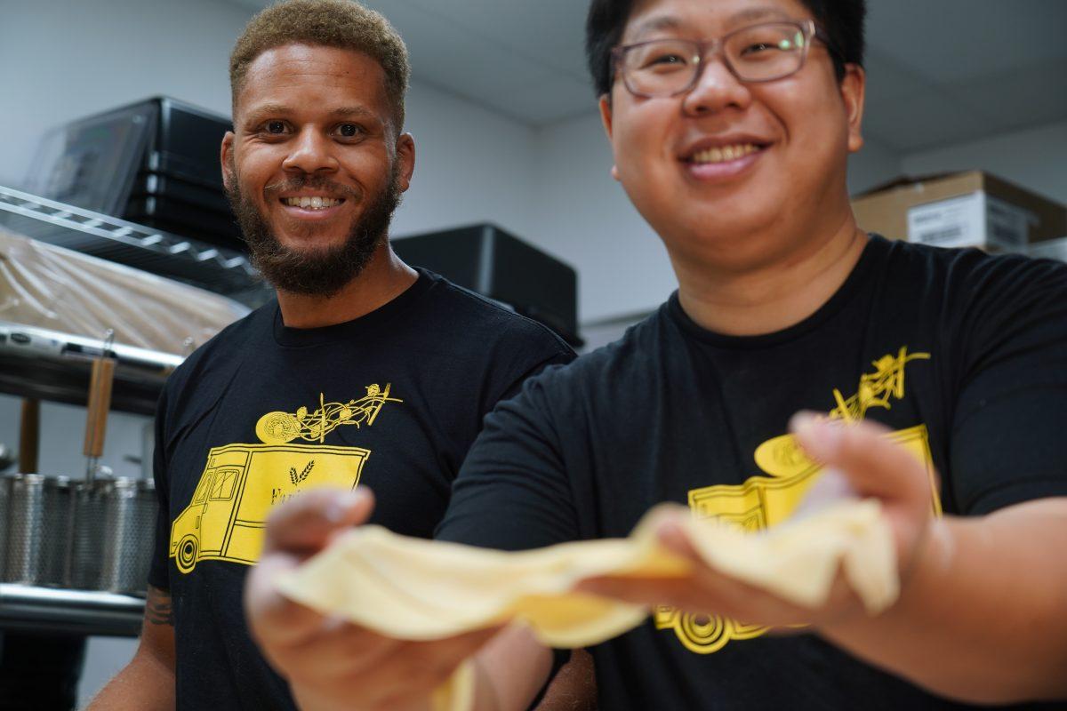 Farina Pasta and Noodles founders Daniel Lee and Joe Liang
