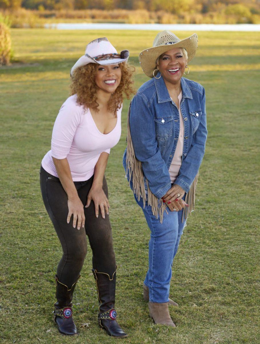 Donna Richardson and Mama LaVerne
